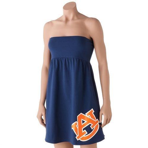 5b759bae89 Auburn University Tigers AU Women s Sideline Cover Up Dress Navy Multiple  Sizes  CollegiateSurfandSport  Sundress
