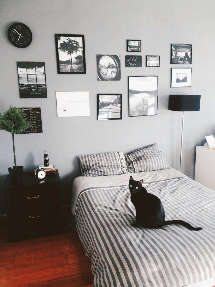 Best Classy Man Bedroom Industrial Wall Gallery Aesthetic 400 x 300