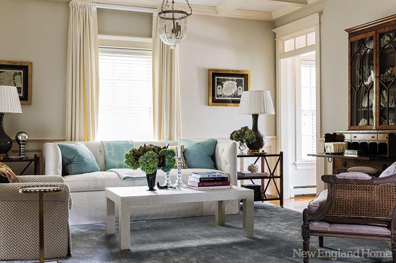Un appartement chaleureux en Nouvelle Angleterre | | PLANETE DECO a ...