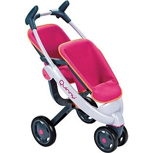 Buy Smoby Maxi-Cosi Quinny Twin 3 Wheel Doll's Pushchair at Argos ...