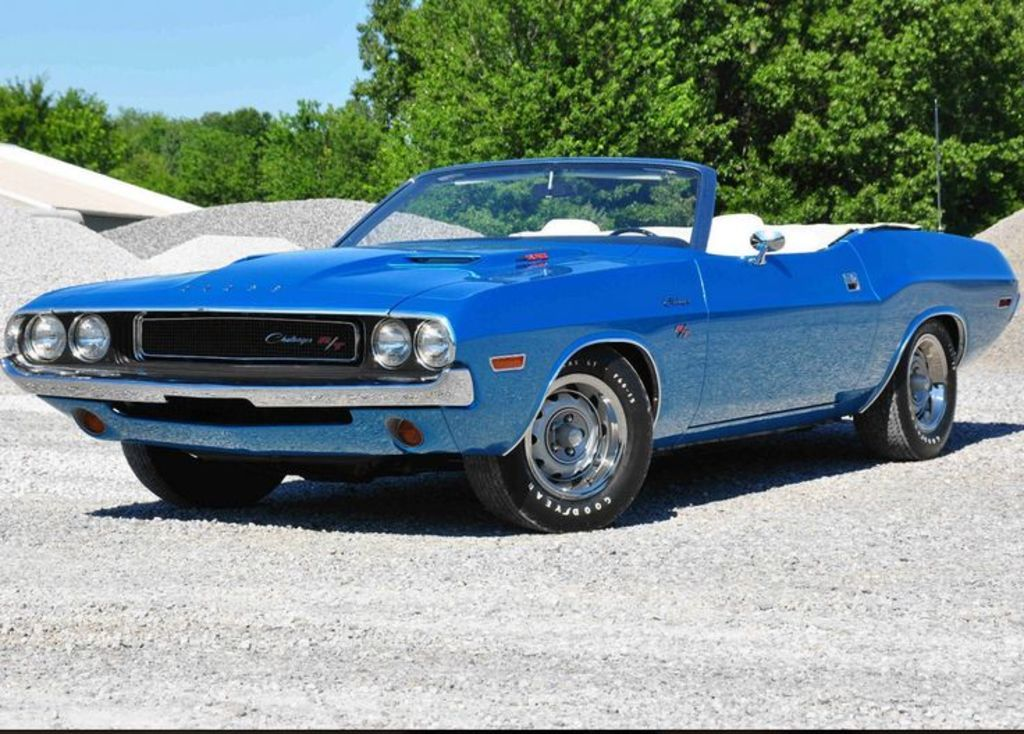 1970 Challenger R T 440 Six Pack Convertible 4 Speed Export