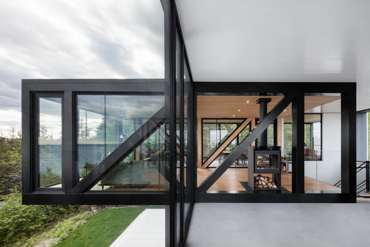 Čiernobiela geometria