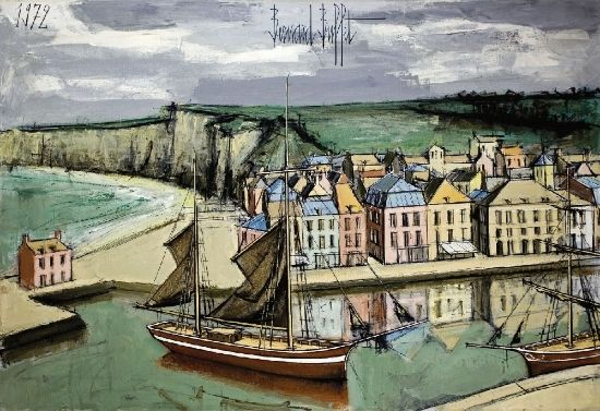 Bretagne, France by Bernard Buffet