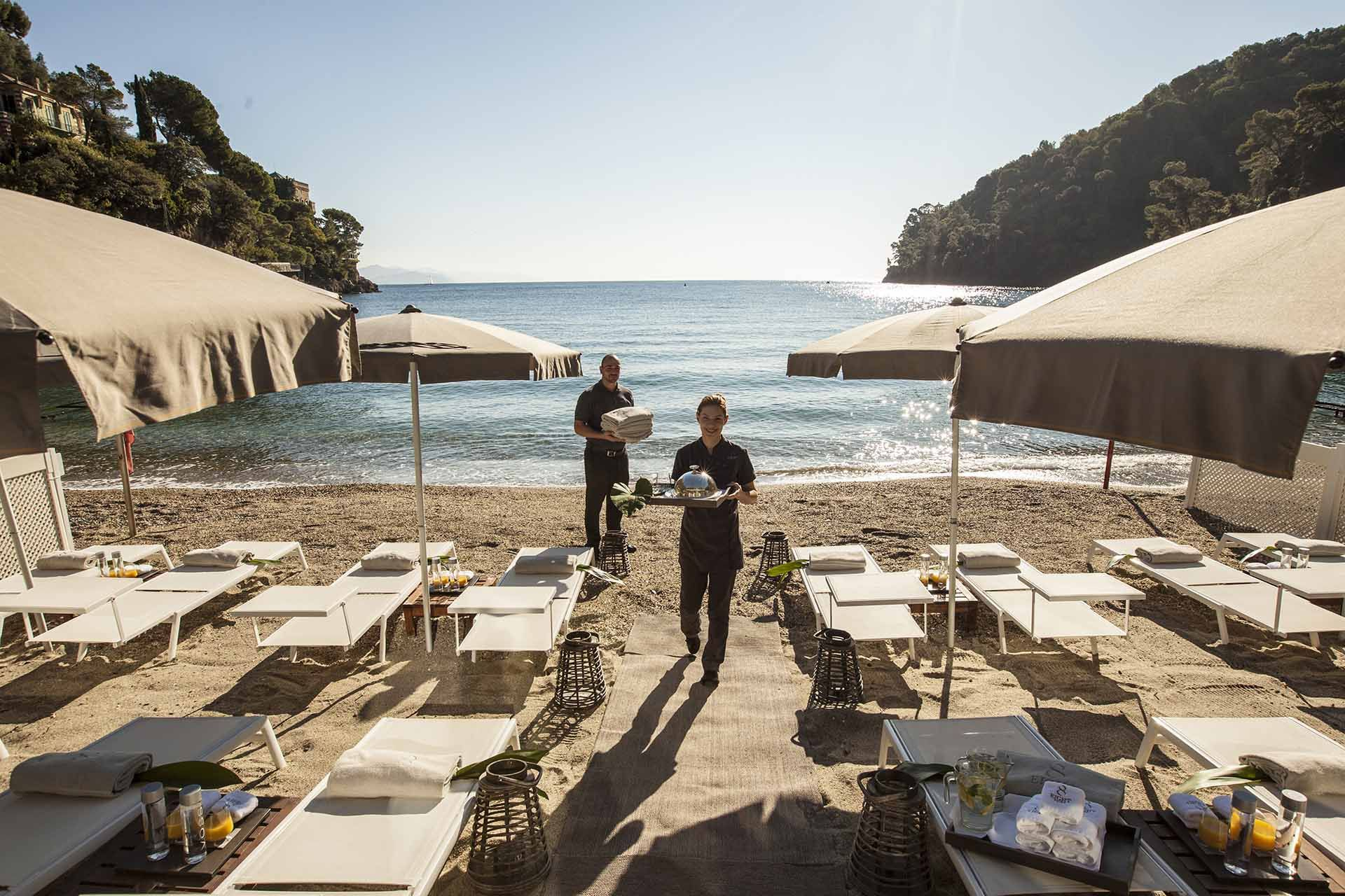 Private Beach Hotel In Liguria Wedding Venue On The Italian Riviera Discover Eight Paraggi And Its Exclusive With Gold Coloured Sand