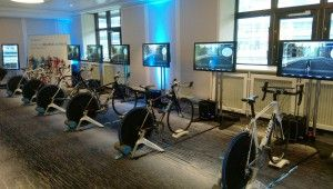 Cycling Simulator : Ideal for corporate events  | Cycling