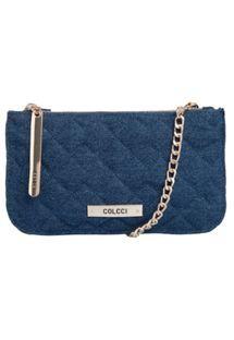 Bolsa Colcci Jeans Azul …  1bbf83fa62f