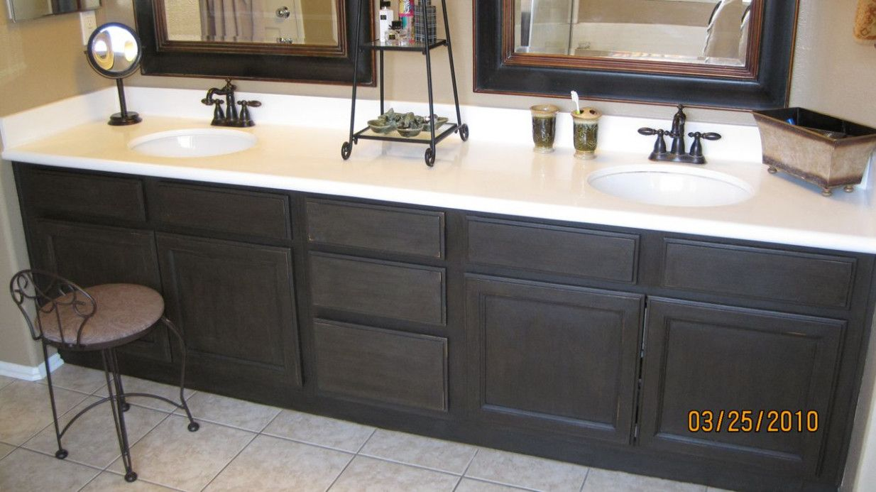How To Refinish A Bathroom Cabinet What Is The Best Interior - Refinish a bathroom
