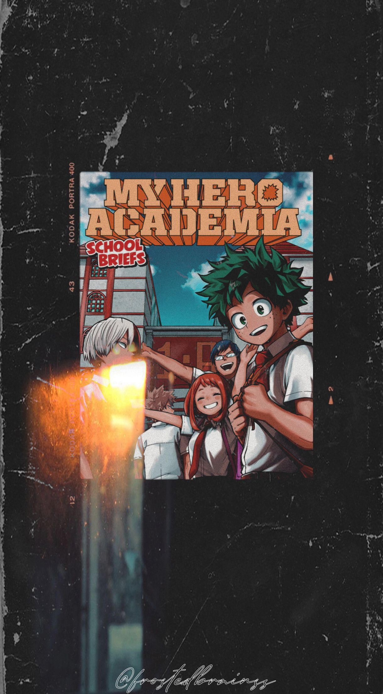 My Hero Academia Aesthetic Background