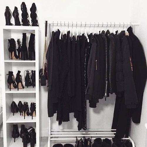 Closet More. Black BootsBlack WardrobeWardrobe ...