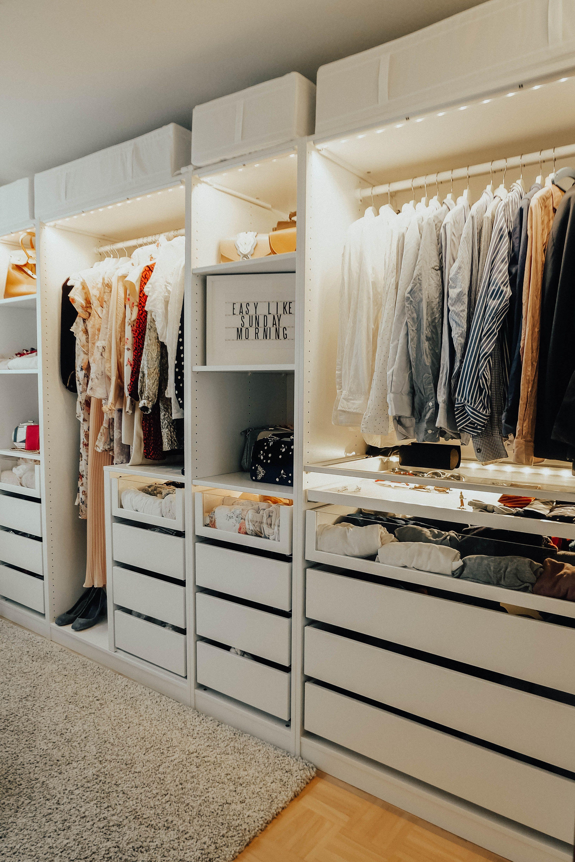 Interior: Mein begehbarer Kleiderschrank – maxistories