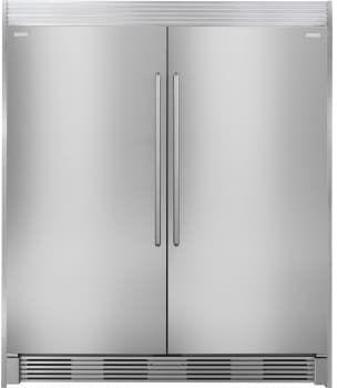 Electrolux Exrefr1 Side By Side Column Refrigerator Freezer Set With 32 Inch Refrigerator Column Refrigerator Electrolux Refrigerator Built In Refrigerators