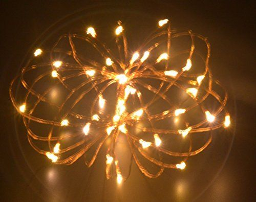 Led String Lights 5m/164ft Mini Battery Powered Copper Wire Starry