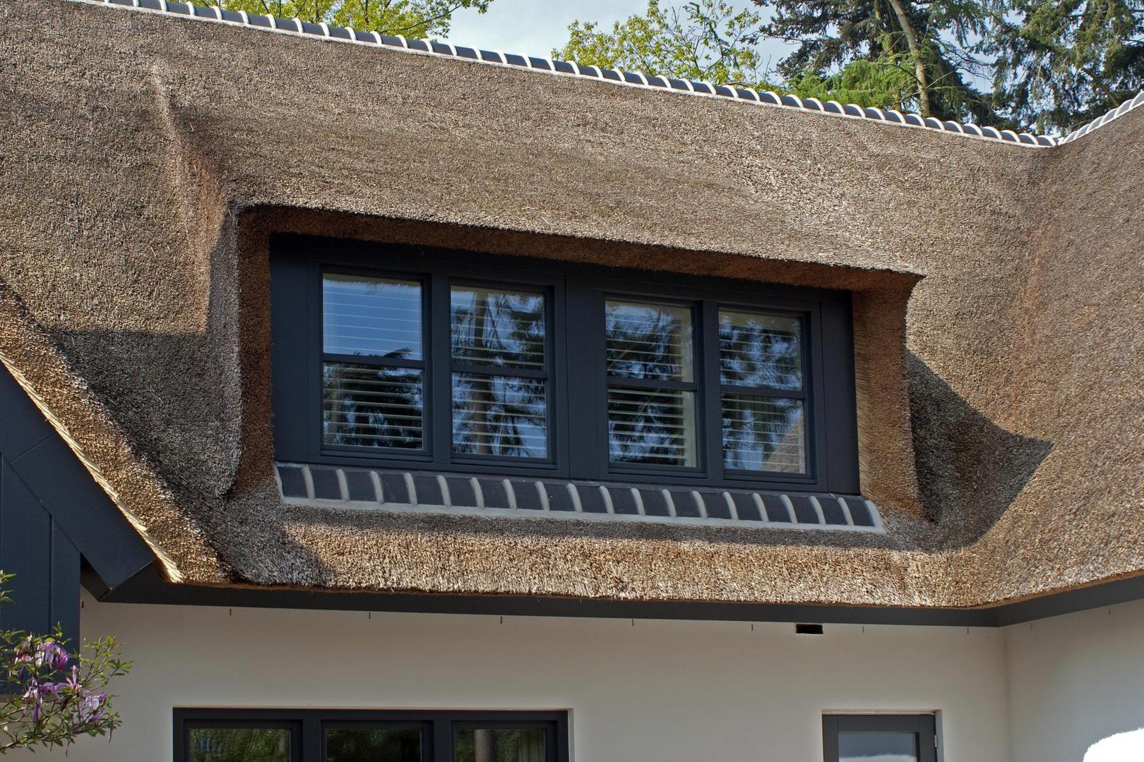 Rietgedekte villa bouw xs huis tuin inspiratie