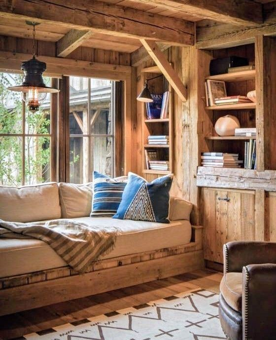 Pin by Brian Huhman on Cozy Cabin | Pinterest | Cabin and Cozy