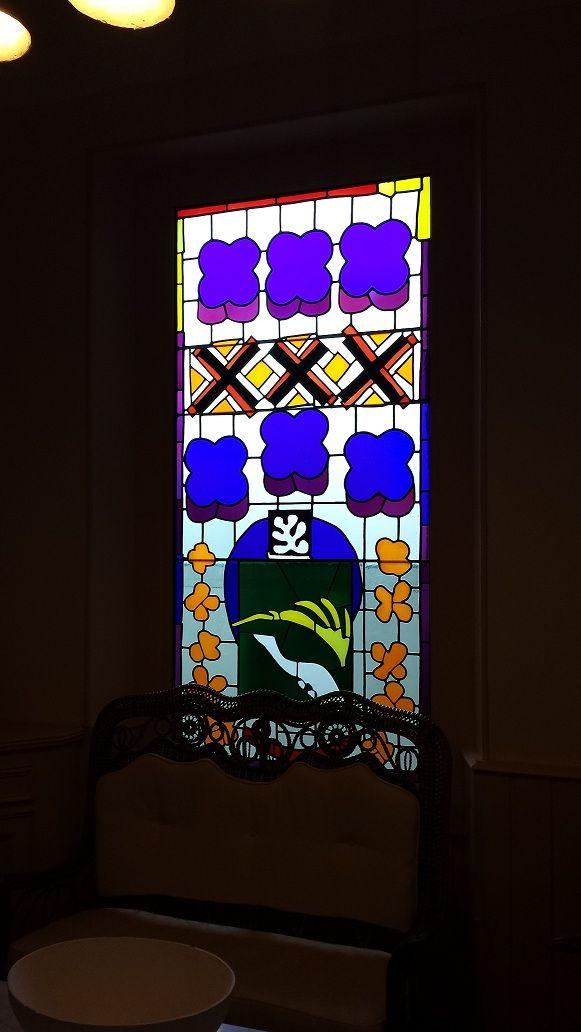 Henri Matisse,Vitrail (Stained Glass) // Musée Matisse, Cateau-Cambrésie // Henri Matisse Museum, Cateau-Cambrésie (France). #art #artists #matisse