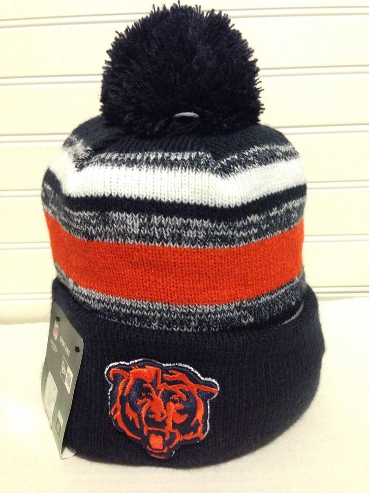 469678280f4 ... sideline beanie stocking cap 45919 d4b19  sweden nfl chicago bears new  era on field knit beanie hat from 35.0 fbdbf 6ba74