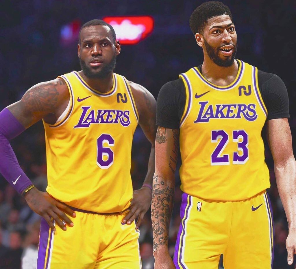 How I Go From 23 To 6 Like I M Lebron Anthony Davis Will Wear 23 Lakeshow Lebron James Lakers A Team