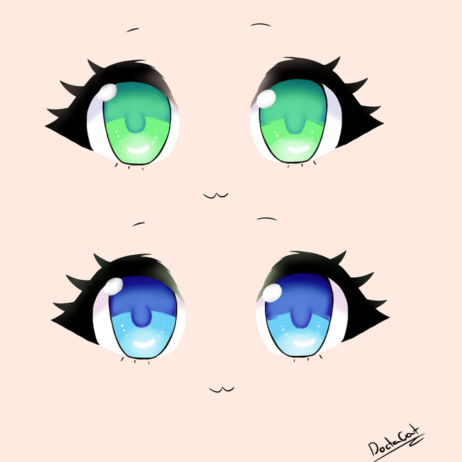 Chibi 53 41 Awesome How To Draw A Chibi Eye 11 Steps With Wikihow In 2020 Anime Eye Drawing Drawing Cartoon Faces Chibi Eyes