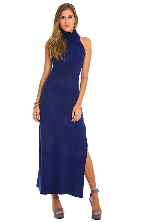 Quem Gosta ?   Vestido Tricot Gola Alta  MAIS DETALHES!  http://imaginariodamulher.com.br/look/?go=2cGGMQn