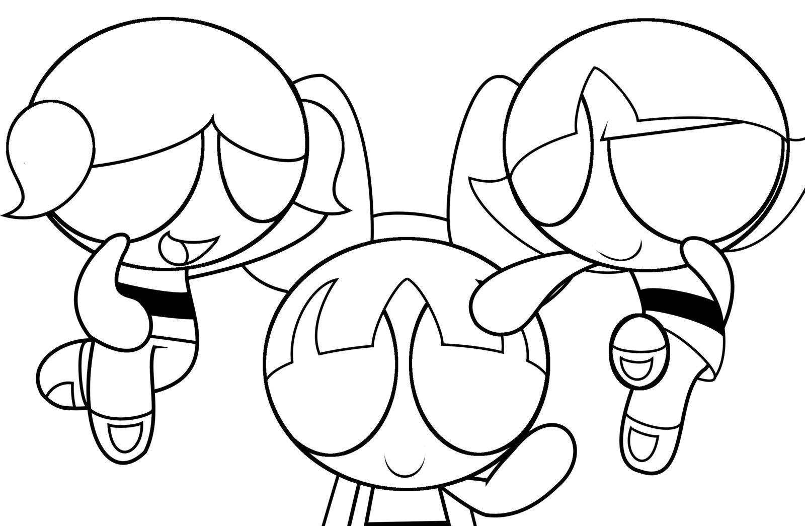 Free Printable Powerpuff Girls Coloring Pages For Kids | reference ...