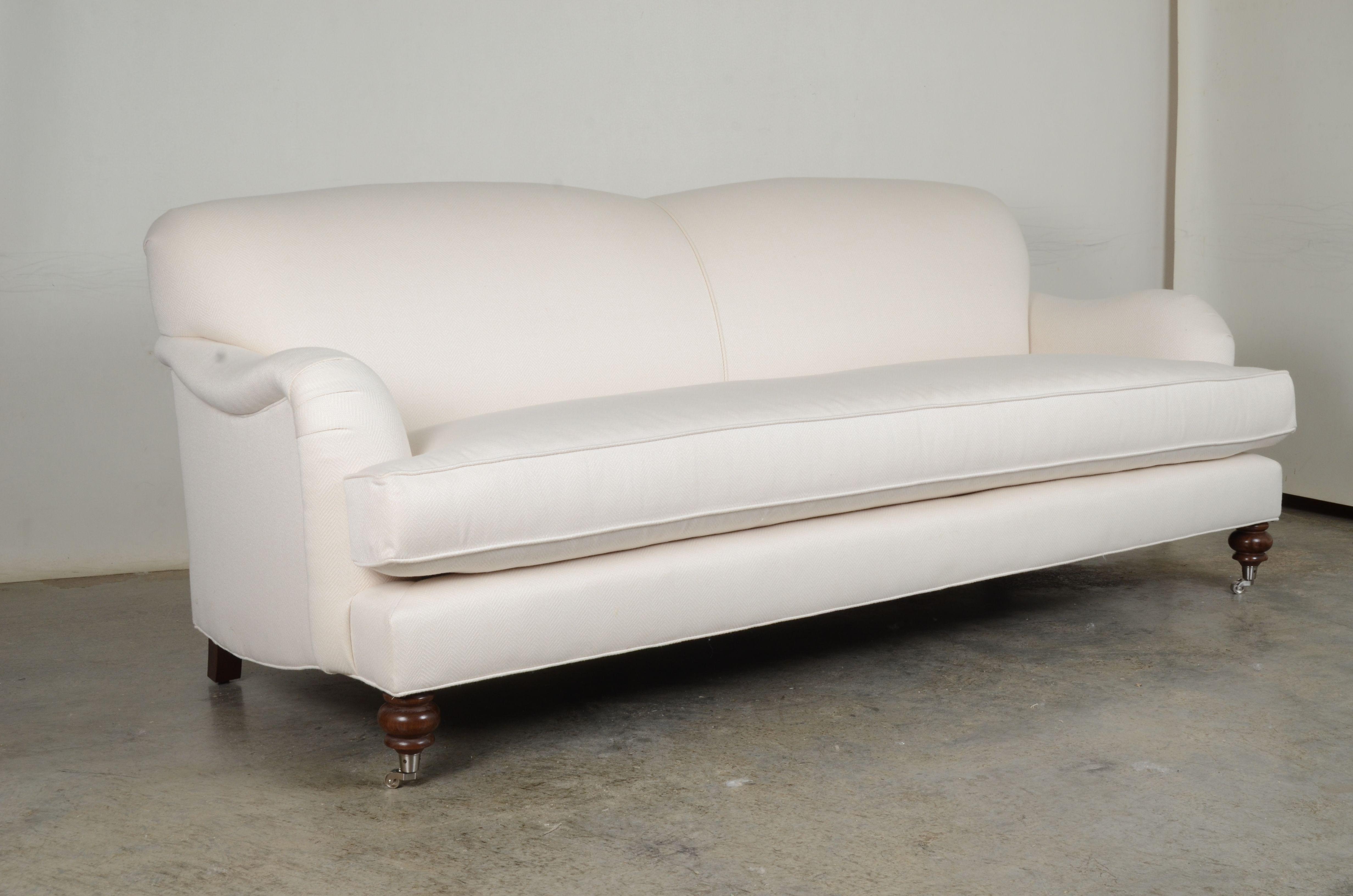Englisharm Tightback Sofa In Sunbrella Posh Salt By Cococohome