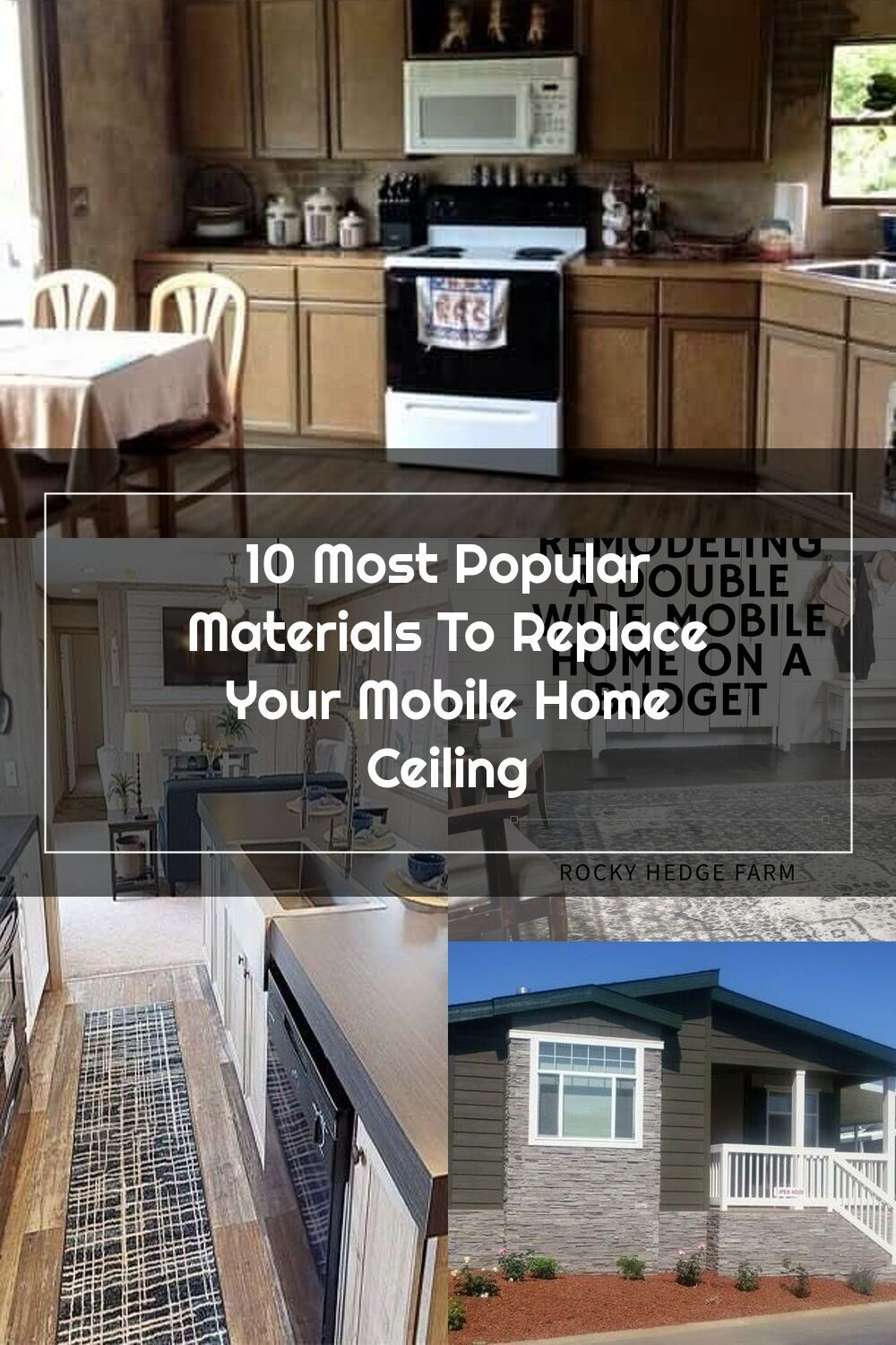 Our 10 Favorite Materials To Replace Your Mobile Home Ceiling In 2020 Home Ceiling Mobile Home Home