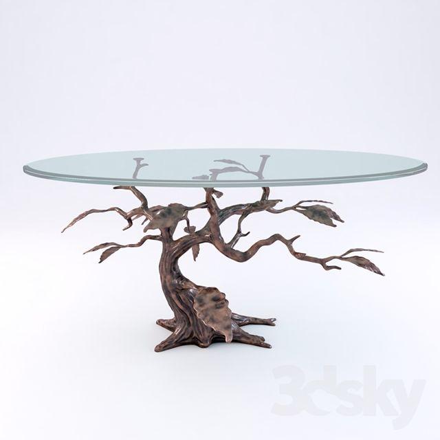 Cypress Tree Coffee Table Model