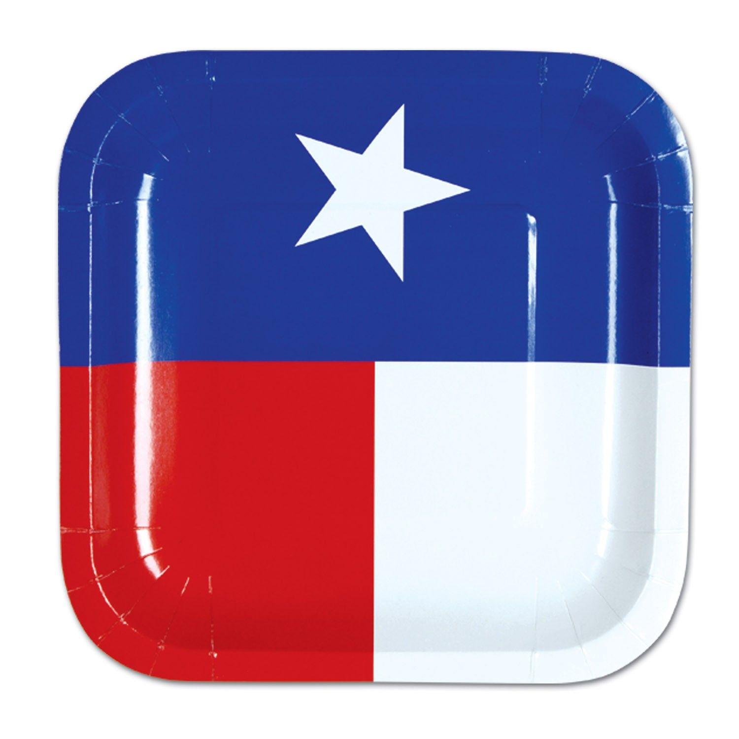 16 ct TEXAS FLAG Beverage Napkins Western BBQ Birthday Party Tableware