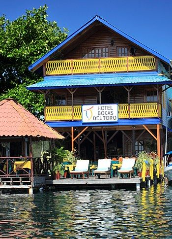 The best restaurants and hotels in the town of Bocas del Toro, Panama, the hub of the archipelago of the same name.