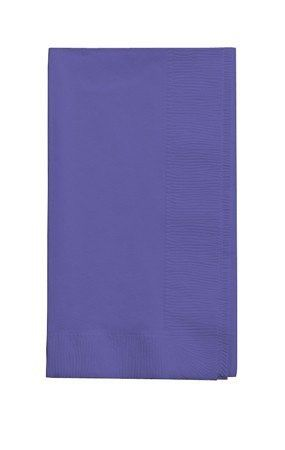 50 gorgeous Purple Dinner Napkins for Wedding, Party, Bridal or Baby Shower, Disposable Bulk Supply Quality!