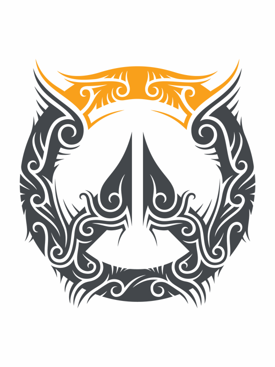 Tribal Version Of The Overwatch Logo Overwatch Overwatch Tattoo Overwatch Wallpapers