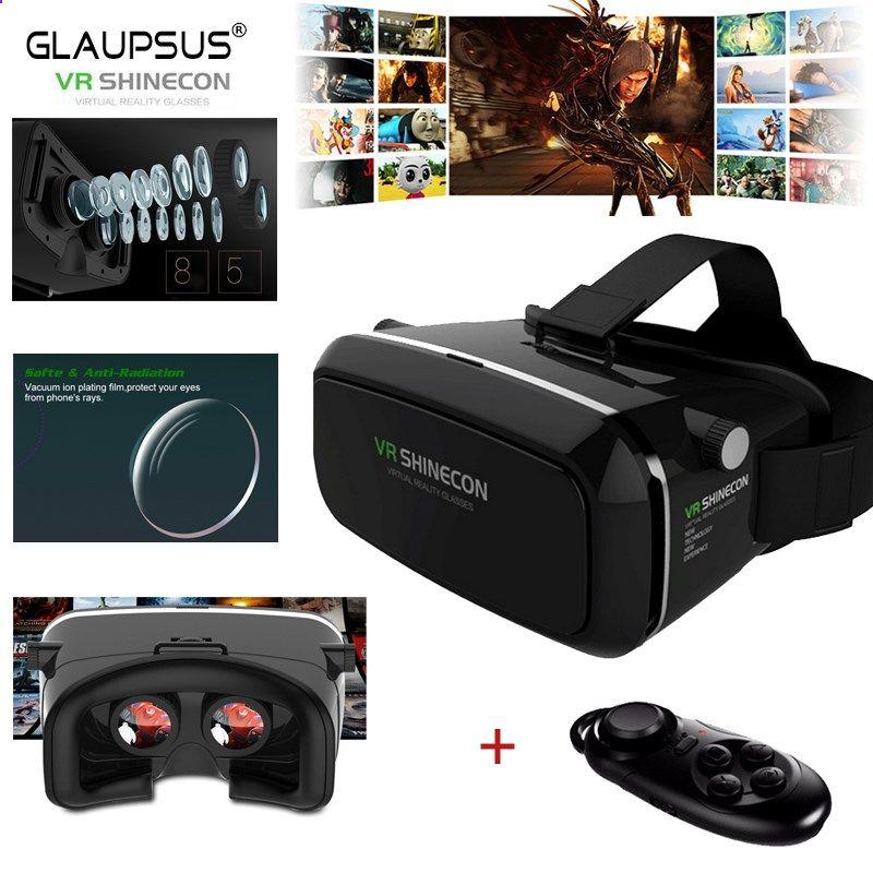 b8e514ce36f Smartphone Games - VR Shinecon 3D Virtual Reality Movie Game Glasses Head  Mount Google Cardboard for