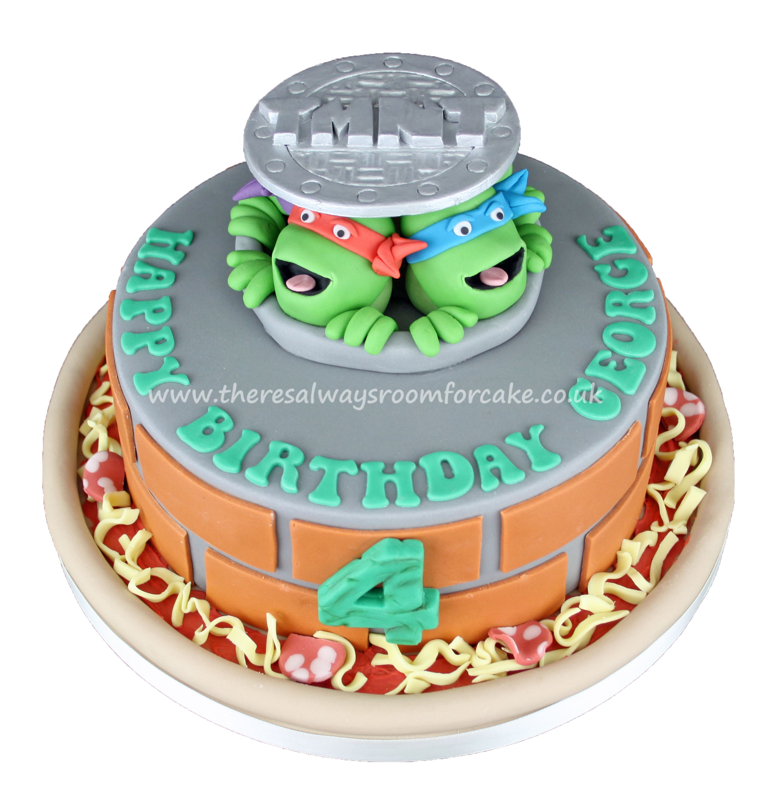 Teenage Mutant Ninja Turtles Cake Make bake and decorate