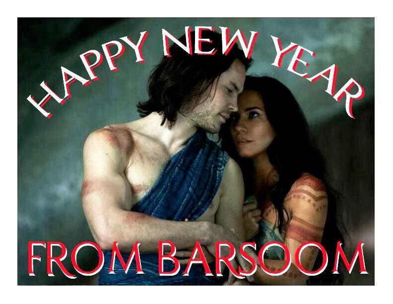 Happy New Year From Barsoom Lynn Collins Lynn Collins John Carter Taylor Kitsch