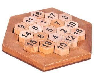Classic Iq Puzzle Brain Teaser 2d 3d Wooden Educational Games