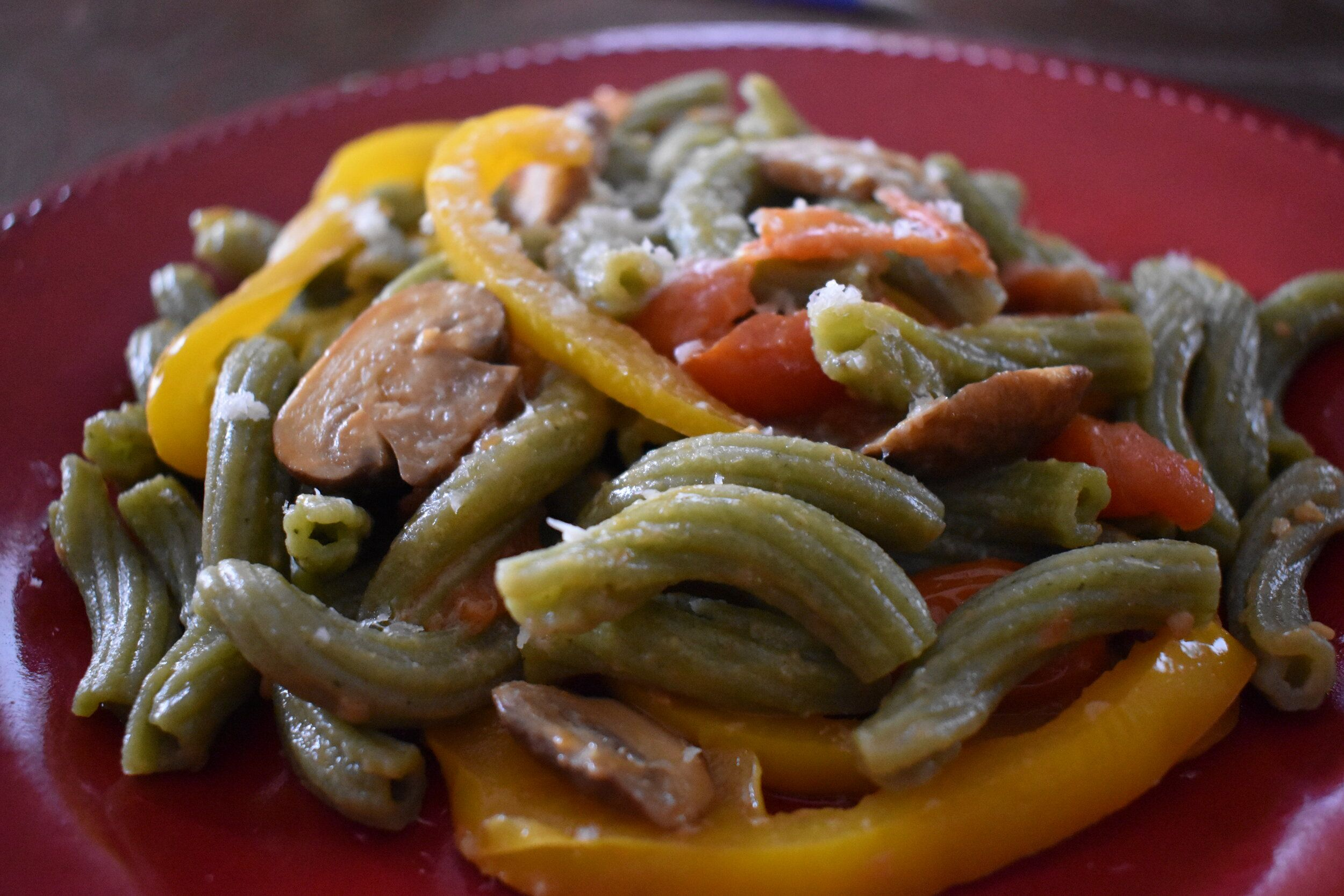 Vegetable Sauté with Garlic, White Wine, & Olive Oil