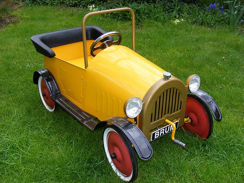 Little Brum Pedal Car Pedal Car Cars And Weird Cars