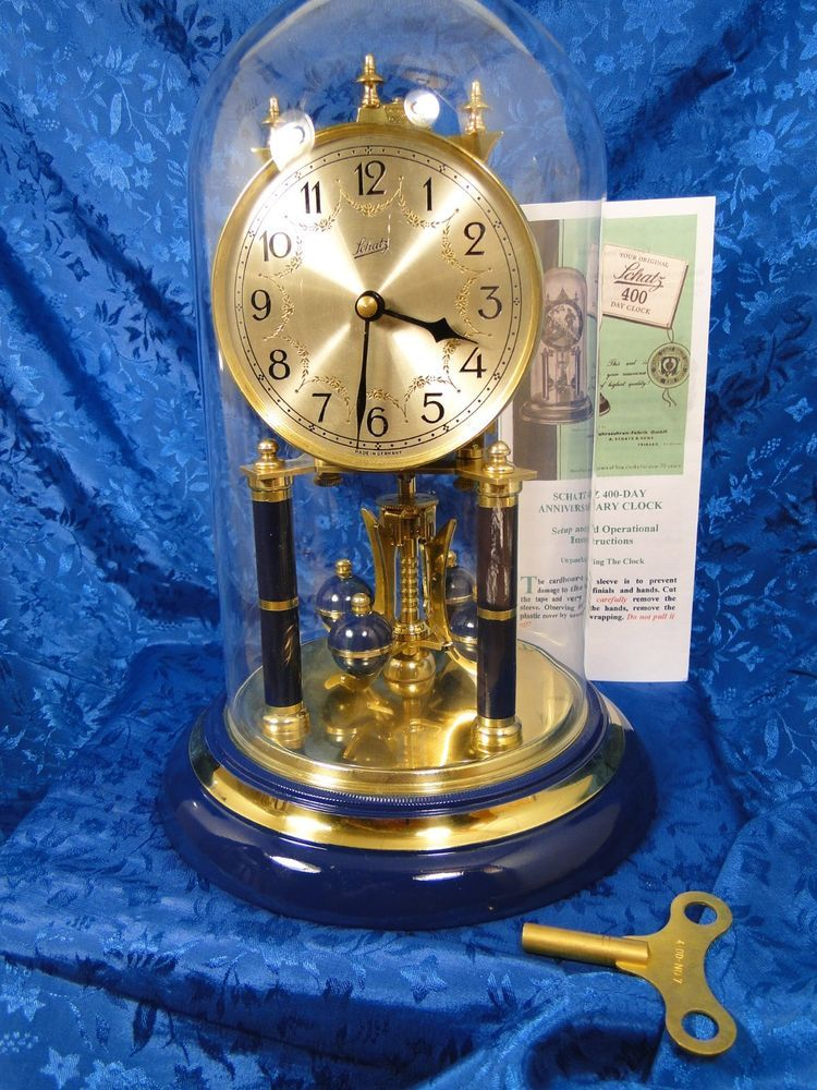 Schatz German Anniversary Clock Restored Make A Great Wedding Gift