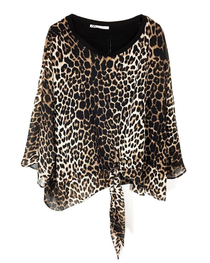 e577d9b3 Zara Women Animal print blouse 4886/044/051 #fashion #clothing #shoes  #accessories #womensclothing #tops (ebay link)