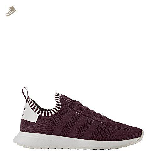 pretty nice c1745 497ab Adidas Women s Flashback Primeknit Maroon US 5 - Adidas sneakers for women  ( Amazon Partner