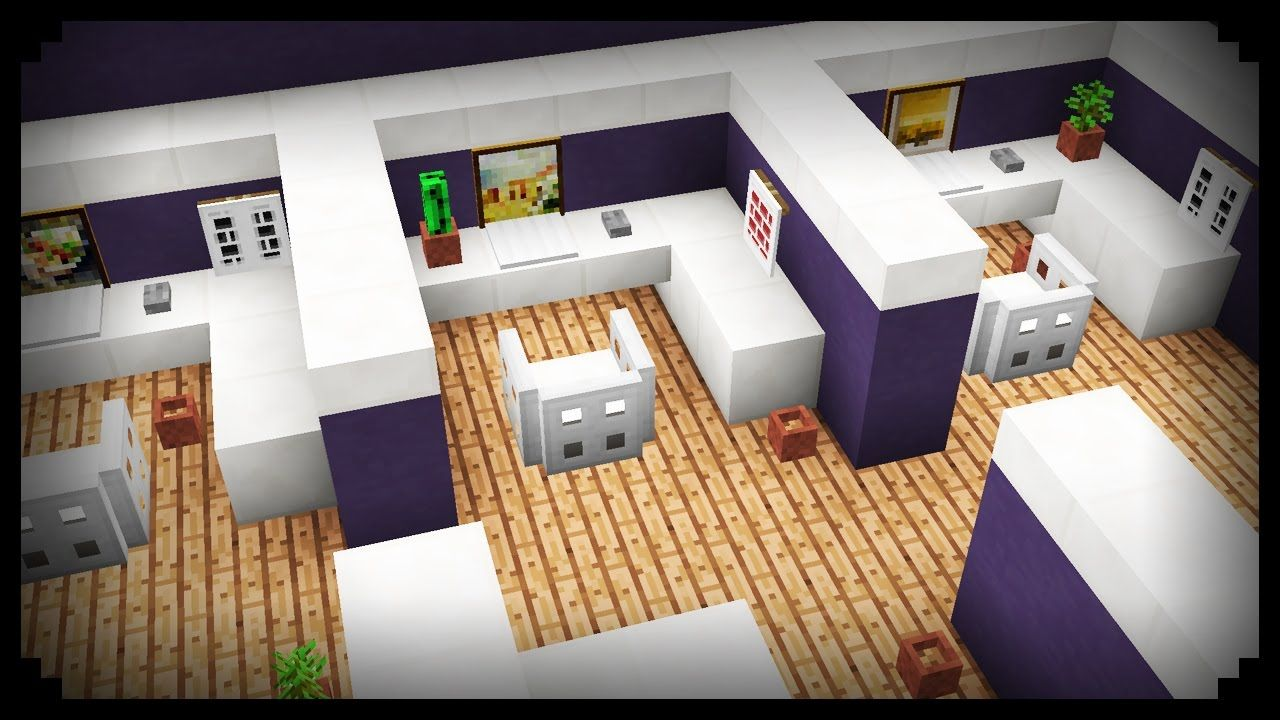 Minecraft: How to make an Office Cubicle An office cubicle for