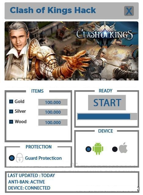 Clash Of Kings Hack/Cheats - How to Get Free Gold(iOS