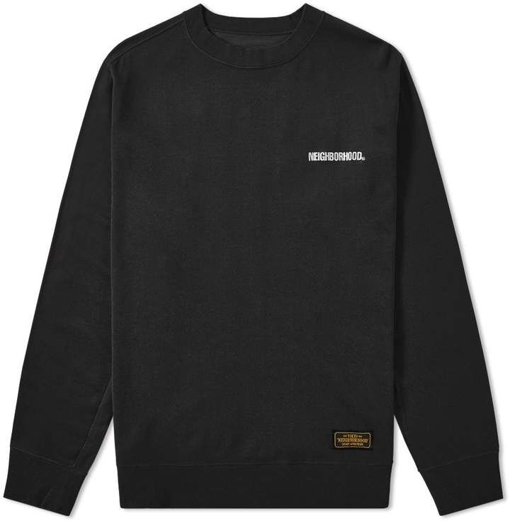 adidas Neighborhood Crewneck Sweatshirt Black