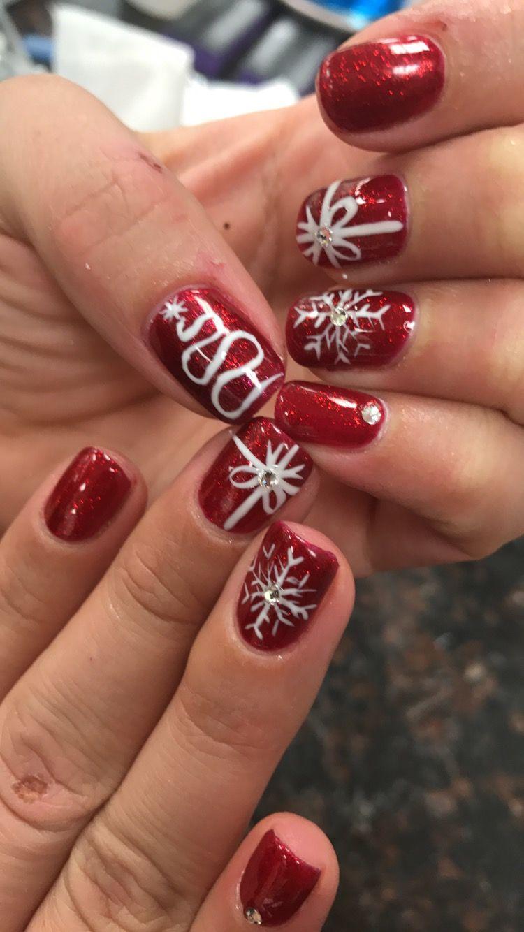 Christmas Time Nails.   Nails, Nail art, Christmas time