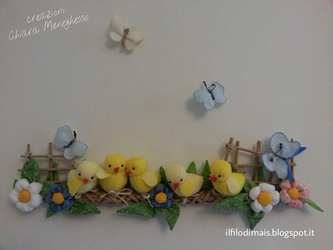 Fuoriporta primaverile per Pasqua http://ilfilodimais.blogspot.it/2016/01/un-tenero-fuoriporta-per-pasqua.html