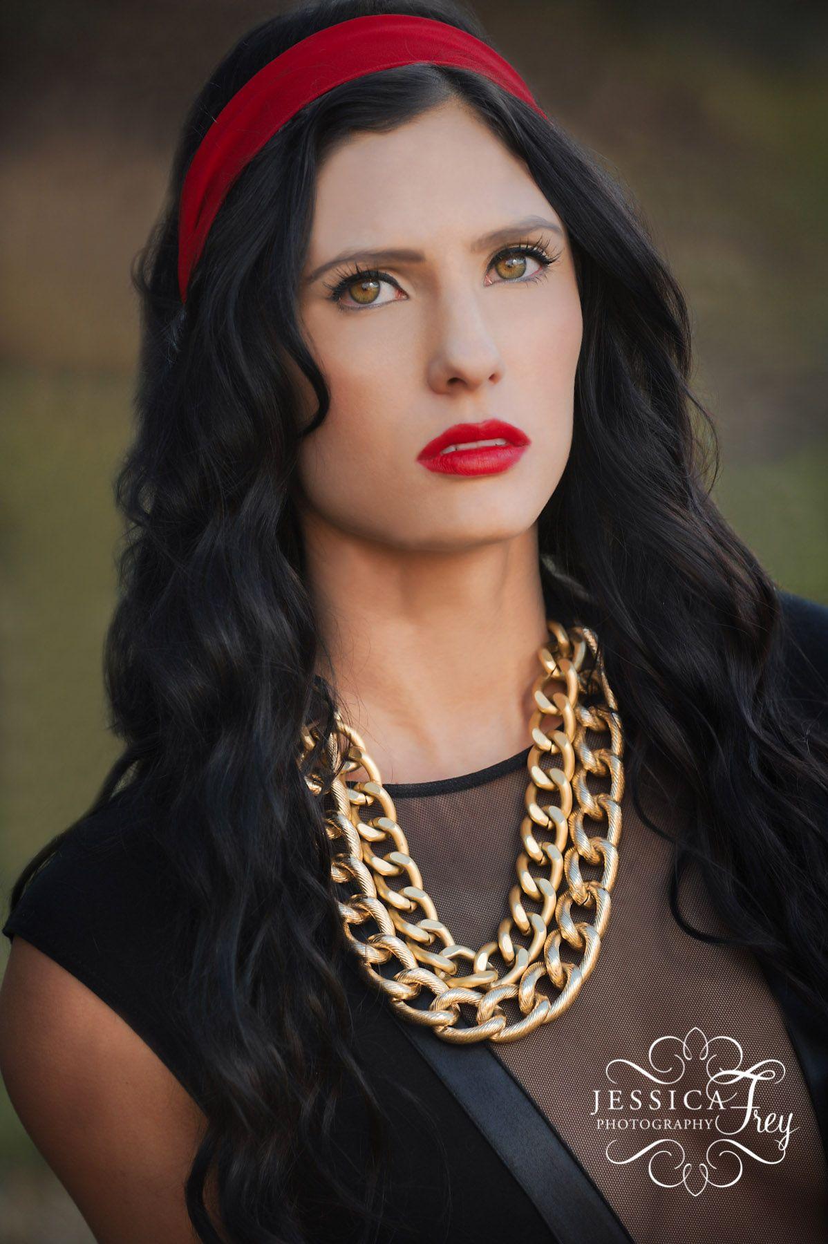 snow white - jessica frey. black hair, hazel eyes. | i'm usually not