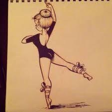 Resultado de imagen para bailarina de ballet dibujo