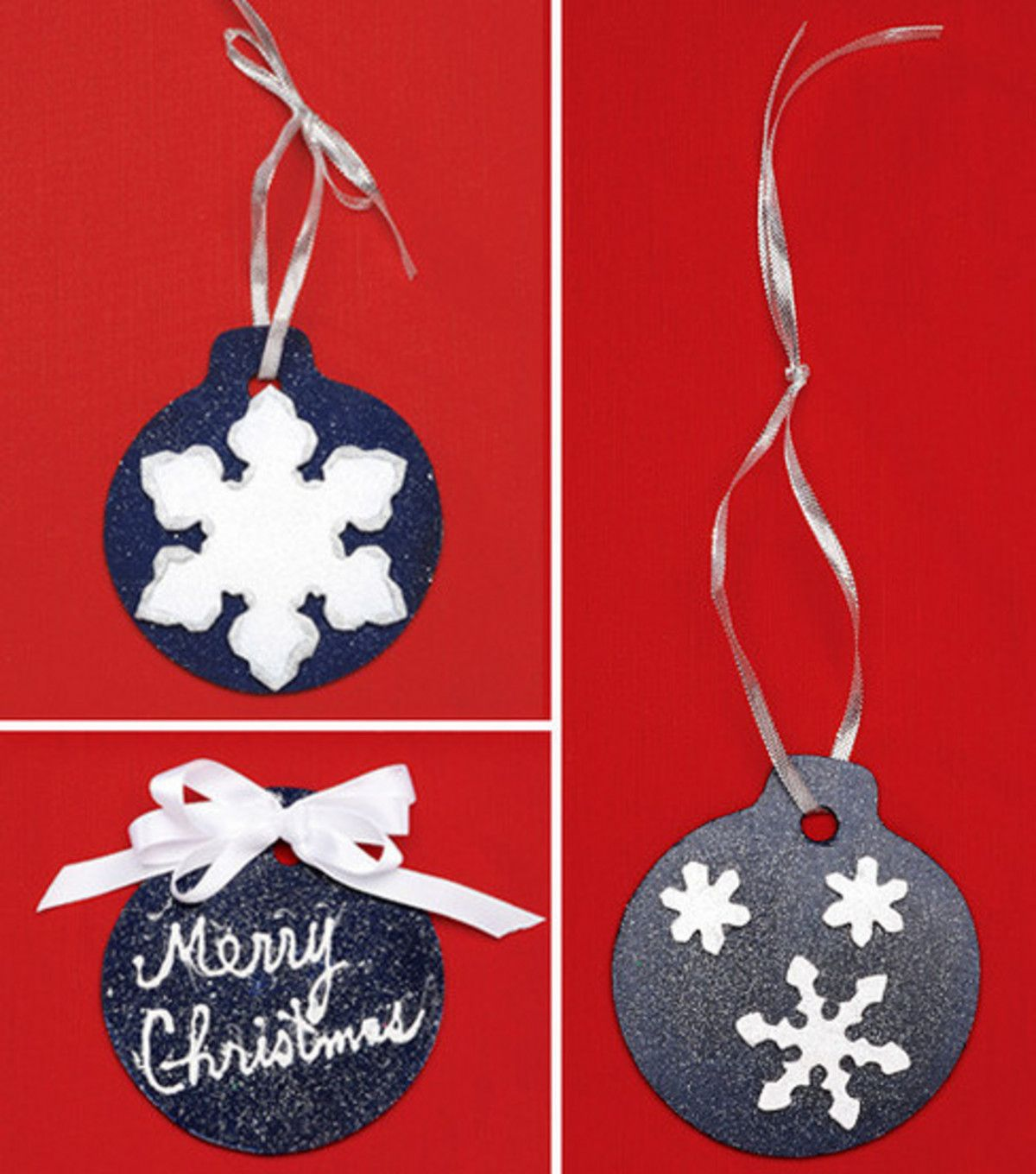 Simple Painted Christmas Ornaments At Joann