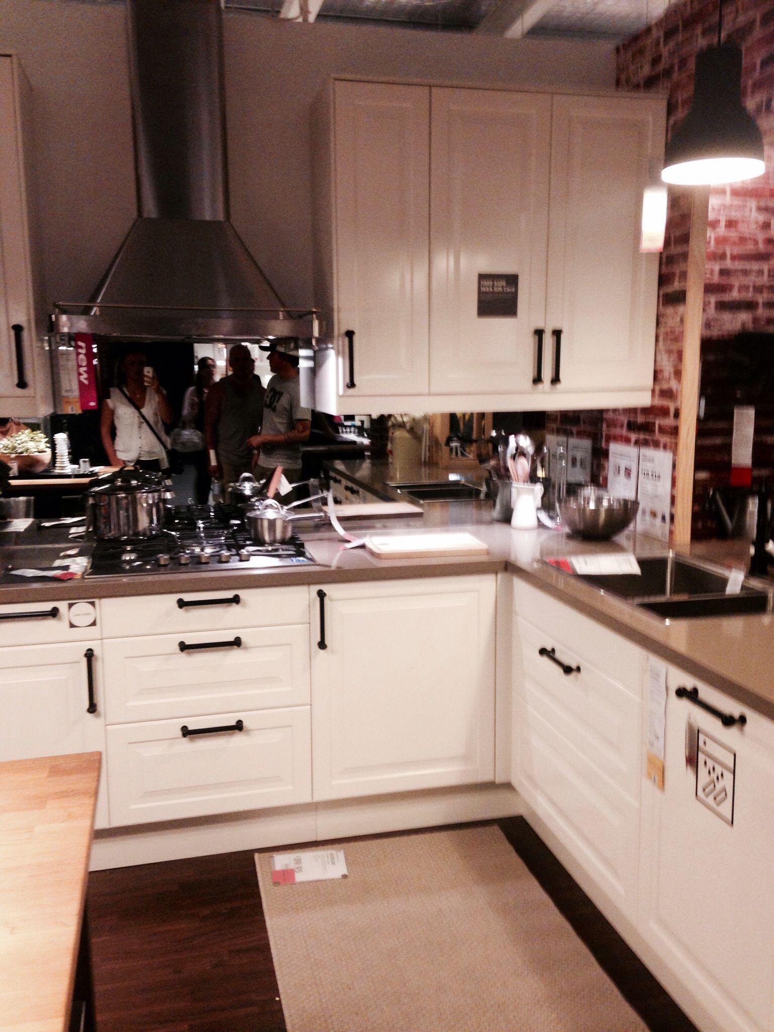 Kitchen idea mirror slash back cottage kitchen remodel pinterest