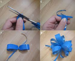 Moño En Cinta De Agua Gift Bows Dyi Crafts Crafts
